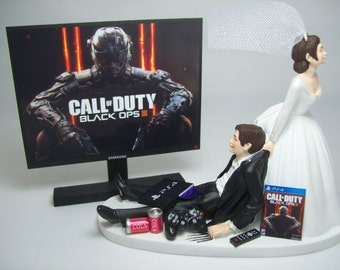 Funny wedding cake topper mechanics auto mechanic by mikeg1968 for Black ops 3 decorations
