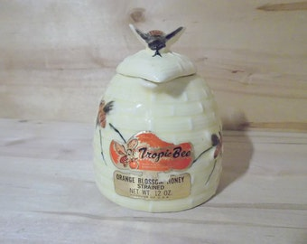 Adorable Vintage Honey Pot
