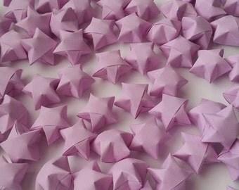 100 Origami Stars - Purple