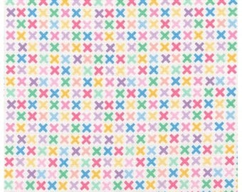 Sweet Remix X's from Robert Kaufman's Rainbow Remix Collection by Ann Kelle