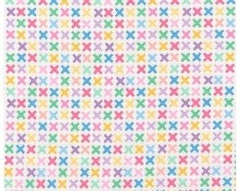 Sweet Remix X's from Robert Kaufman's Rainbow Remix Collection by Ann Kelle