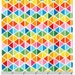 Bright Remix Trianges from Robert Kaufman's Rainbow Remix Collection by Ann Kelle