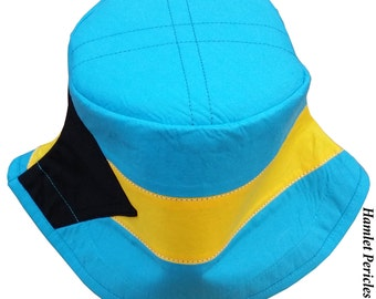The Bahamas Unisex Bucket Hat | Bahamas Hat | The Bahamas Flag | Country Hat by Hamlet Pericles