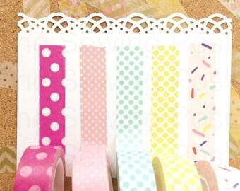 Washi Tape Set: Sprinkles