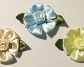 "Reborn Magnetic Flower Hair Bows ""Set of 3 for 9.50"""