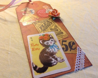 Large Gift Tag with Gift Card Holder