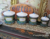 Migliore Kitchen Dollhouse Canisters 1/12 Scale