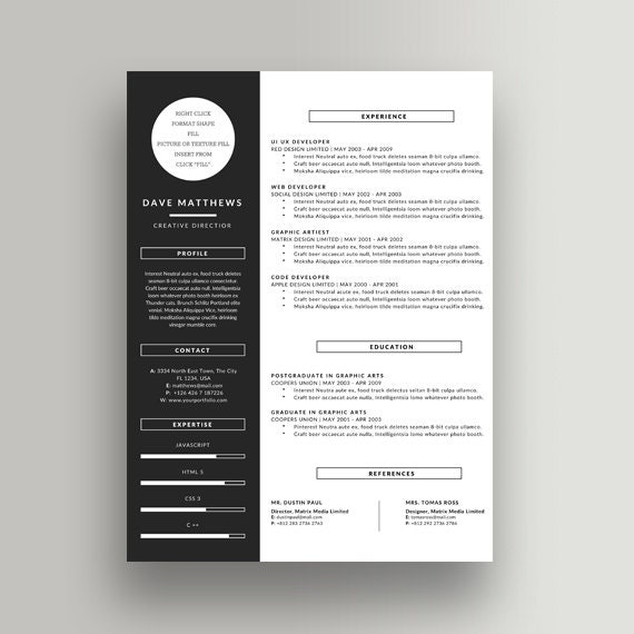 items similar to resume templates word clean