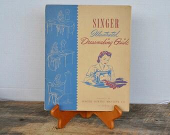 Vintage Singer Illustrated Dressmaking Guide 1941 Booklet