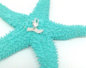Molokai Charm, Hawaiian Jewelry Charm, Sterling Silver handmade by Sparrow Seas