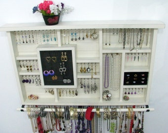 Jewelry Organizer Jewelry Holder you choose your own colors