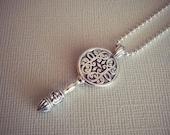 Sterling Silver Key Pendant