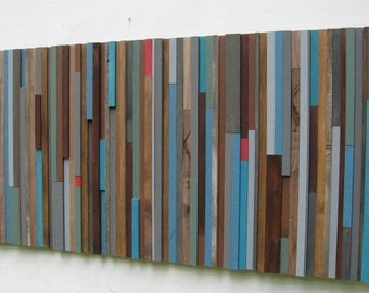 Wood  Wall Art,Modern Wood Sculpture, Abstract painting on Wood, Wall Art