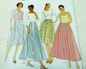 Simplicity Pattern 8943, Gathered Circular Skirt, sizes 6 - 12