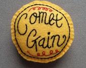 Comet Gain (Yellow) felt badge