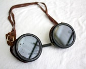 Welsh MFG Co. Welding Goggles - Vintage safety glasses - Manufacturing Type B Steampunk eyewear