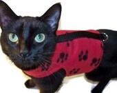 Fleece Cat Harness - Cat Clothes - Cat Harnesses - Cat Clothing - Clothes for Cats - Harnesses for Cats - Cat Jacket - Cat Coat