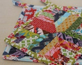 Modern Hot Pads, Trivet, Quilted Pot Holders