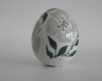 Royal Copenhagen 1979 Annual Porcelain Egg Designed by Ann Marie Kornerup