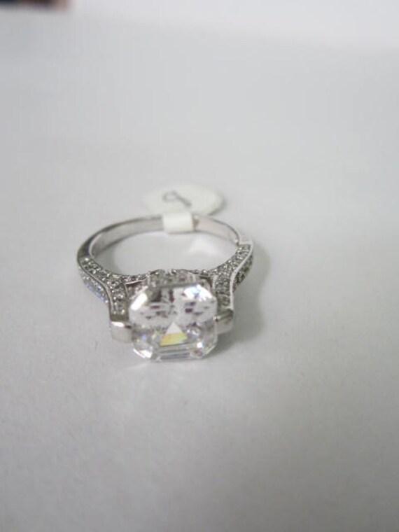 asscher cut engagement ring antique asscher cut engagement