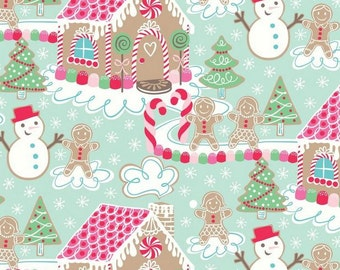 Blend Fabrics - Sugar Rush - Gingerbread Dream - Blue