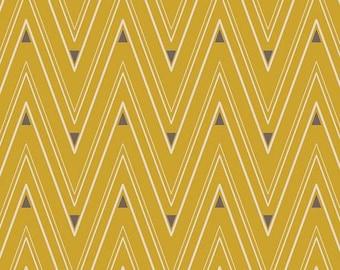 Art Gallery Fabrics - Artisan by Pat Bravo - Collar Ends Bronze