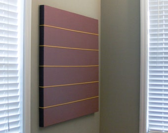 Large, original painting. Precise. Linear. Minimalist. Modernist.