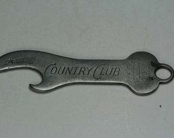 Vintage Country Club - Key Beer Bottle Opener