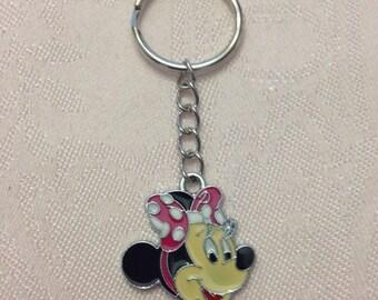 Minnie Mouse Disney Keychain