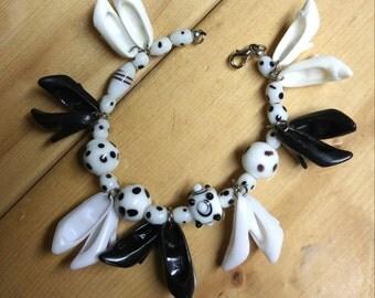 Black and White Barbie Shoes Bracelet