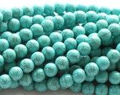 "Turquoise Magnesite Beads, 4mm - 15"" Strand"