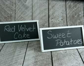 Chalkboard Food Labels, Set of 2