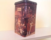 Vintage Eduscho Cafe Greco Coffee Tin
