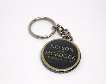 Daredevil NELSON & MURDOCK keychain