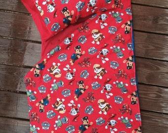 Paw Patrol!!  Kindergarten/preschool sleep mat cover and pillow case
