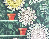 1949 Flower Doilies and a new pansy doily No. 64 includes 15 pages of patterns
