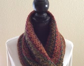 Polo Multi Cowl Infinity Neck Warmer Circle Snood Soft Scarf Cluster Crochet