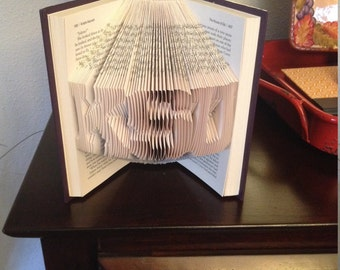KSU Folded Book Art Kansas State University, K-State