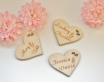 Personalized Hearts, Wooden Hearts, Personalized Heart, Heart, Engraved Heart, Wood Heart Wedding, Personalized Wood Hearts, Country Hearts