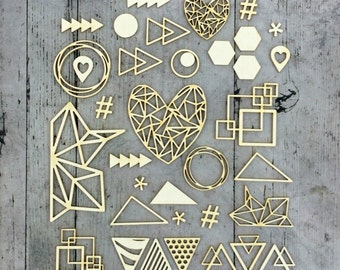 GEOMETRY- Cut shapes