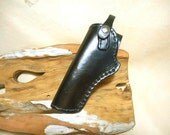 Sale- Holster- Handmade Black Leather- .22-.38- small auto- 5.00 off