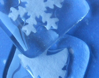 Set of 12 Christmas Table Decorations or Winter Wedding Favours