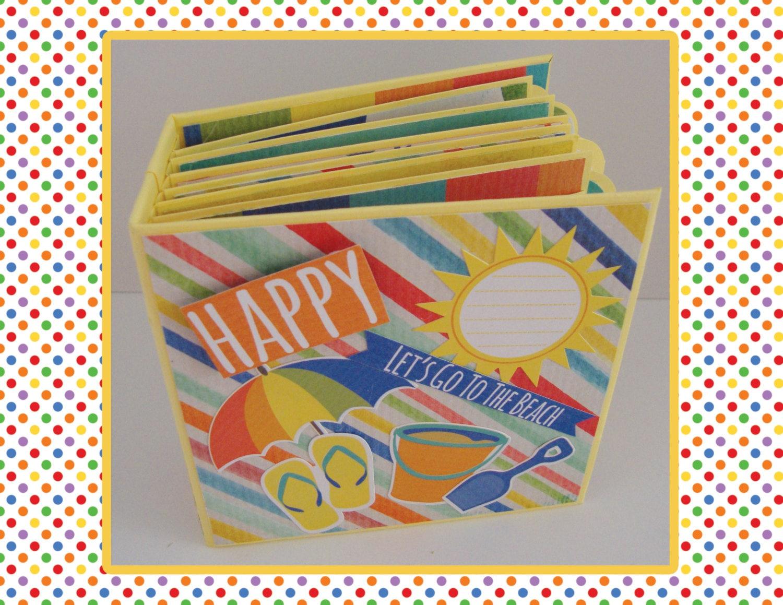 Scrapbook paper beach - Sold By Beautyofhandmade