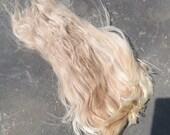"Platnium Blond and Light Fawn Suri Locks ""Marti Gras"""