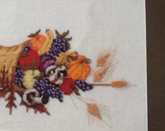 BOUNTIFUL HARVEST - cross stitch pattern only