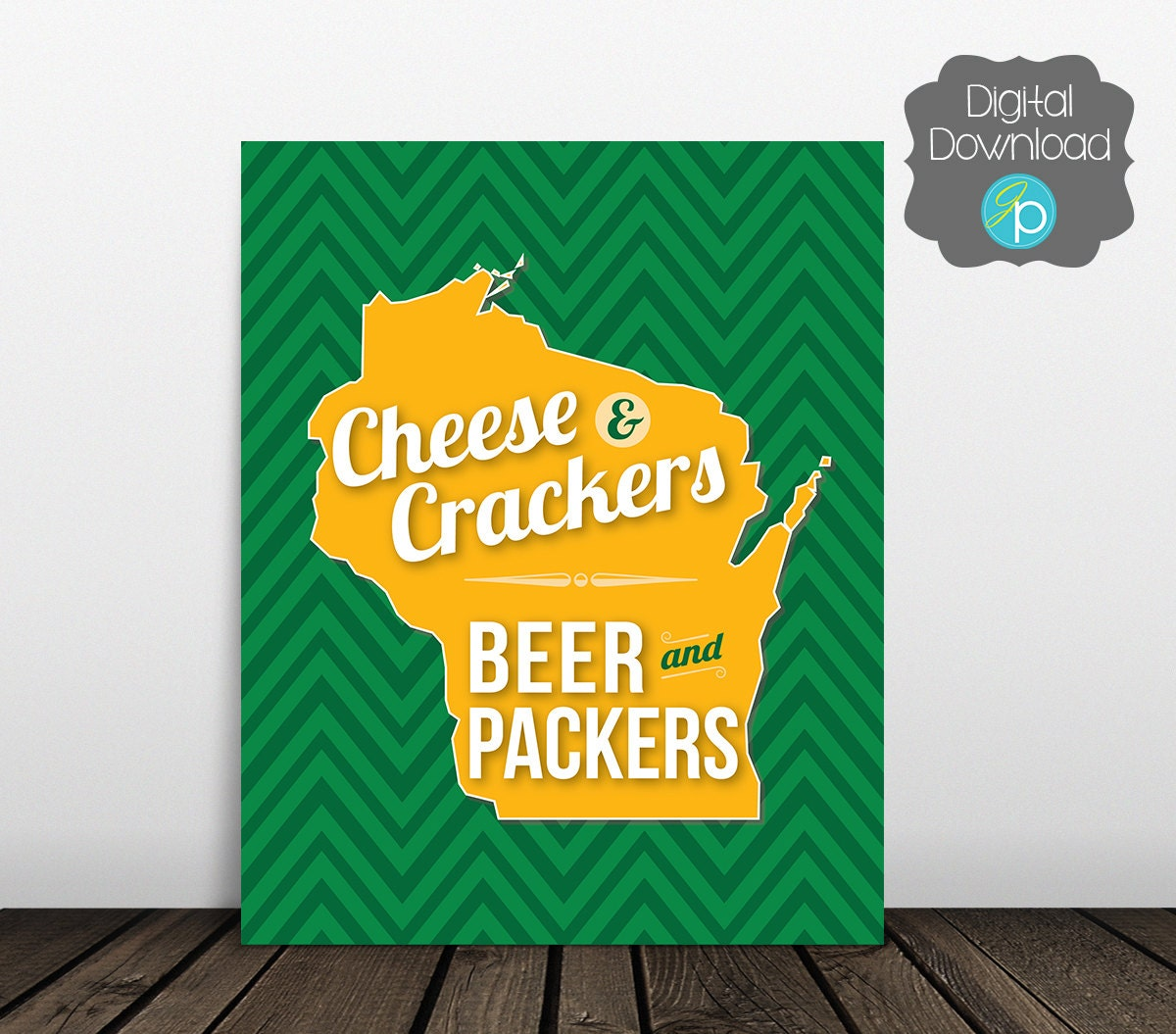 Green Bay Packers Decor Green Bay Packers By Jesspoutredesigns
