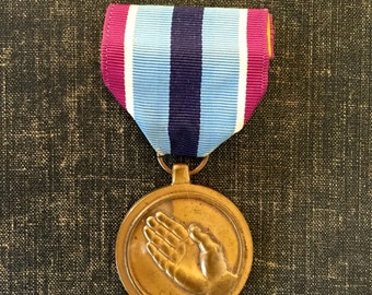 USA Humanitarian services medal - Good conduct metal