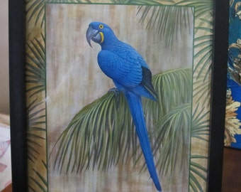 Beautiful blue bird home and living home decor wall decor wall hanging
