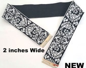 Belt, Elastic Belt, Stretch Belt,  Black White Belt. Cinch Belt, Weaving belt, Plus size Oversize