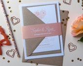 Wedding Invitation Suite - Lila Wedding Range